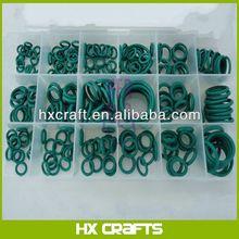 Box of Assortment Green Seal F12-NBR R134a-HNBR O-ring set for A/C Repair