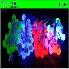LED RGB cottonball lights for christmas