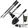 9-in-1 de emergencia kit de herramientas, pala, hachas, cuchillos, martillo& más