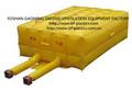 500mm de alta capacidad de ventilación de aire del ventilador para rescate de bomberos de colchón de aire