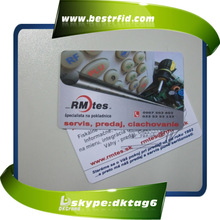 grand plastic offset printing rfid card for hotels m1 card