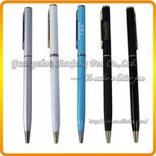 BER-Y007 Jumbo slim golden finish metal pen