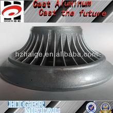 Alminium die casting parts/Aluminum die-casting lamp shade