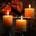 Parafina perfumada y velas de pilar sin perfume