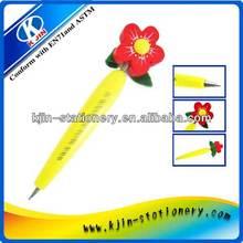 promotional plastic flower ball pen