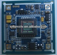 "Good night vision 1/3""CCD Effio 700TVL 673+4140 cctv camera module CCD PCB Board,cctv camera board,OSD camera module"