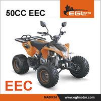 EEC Certified Kids Racing 50cc Atv