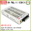 Meanwell 13.5v switching power supply 75w SP-75-13.5