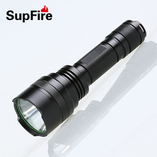 Led outdoor lighting rechargeable flashlight