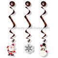 Pvc del remolino colgantes decoración, hecho a mano navidad ideas de decoración