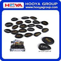 2014 wholesale engraved inspirational stones