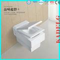 luxe moderne forme retangular ptrap murales toilettes
