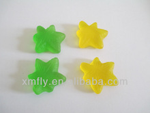 Sugar free maple leave gummy candy sweets