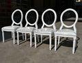 La boda de madera luis xv silla con plazas extraíble xy-0220