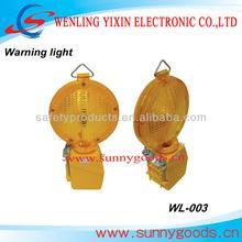 1pcs 4R25 6V battery powered Barricade warning light