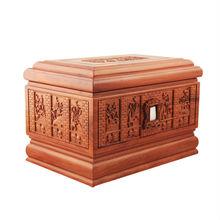de madera decorativos de gran tamaño urnas funerarias para los muertos