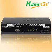 Full HD 1080P Free to Air ISDB-T Set top Box EPG USB PVR Digital Satellite tuner