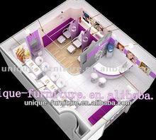 """""""12ft*15ft""""nail kiosk design in shopping mall for sale"""