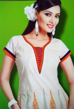 2015 New Style Ladies Cotton Kurti / Casual / Short Sleeves / Size: S to 5XL