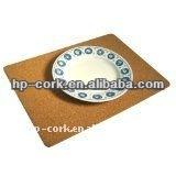 Promotional porgual cork pad coaster