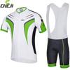 Best Quality 2014 Cheji bicycle Clothing short sleeve jersey bib shorts set wholesale Breatherable Milk Fiber mens Sports wear