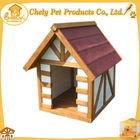 Asphalt Roof Pet House Wooden Dog Kennel Buildings For Sale