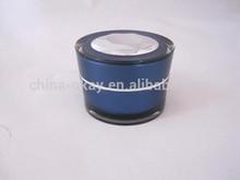 diamond cap dark blue day cream containers