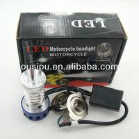 Universal 12V Motorcycle LED headlamp kit high beam 20w low beam 8w LED headlight for motorcycle