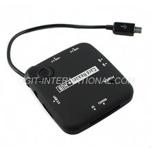 OTG USB Hub Micro USB SD Card Reader for Samsung S4 i9500