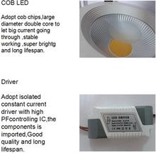 15w led ceiling down light led down light led emergency ceiling light