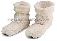 Cozy Toes Microwave Feet Warmer Slipper boot cozy feet