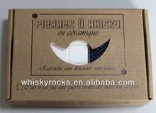 Promotional portable wine chiller ceramic