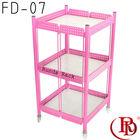 craft display shelf \rack\display stand \metal display stand/display rack/display shelf \3 tier small hairdressing rack