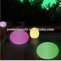 Jardín al aire libre led brillante bola de la lámpara/hierba bola de iluminación/sistema de iluminación led esfera, led bola flotante