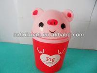 Kids/children Play Plastic PP Animal Dustbin