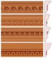 Ornamental isopor cornija com cimento polímero revestimento