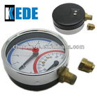 thermometer pneumatic gauge with spring adaptors