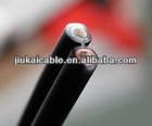 Australia Standard 100M/Roll 0.6/1KV Solar Panel PV1-F Twin DC Solar PV Cable 2C 4mm2 Approved TUV