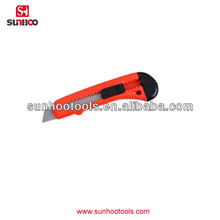 13-100-05 high quality with plastic hanlde 5 inch utility knives