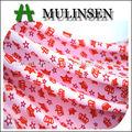 mulinsen têxtil de malha jersey único trecho de poliéster dty tecido de lycra para impressão por sublimação de vestuário