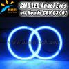 Factory wholesale T10 plug led angel eyes, 3014 led chips, high quality design, 105mm led rings for Honda