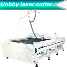 1.2 tons aluminum structure laser cutting machine for plastic price HS-B1525