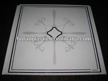 30cm transfer new hot stamping pvc ceiling panel/pvc tile