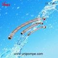 Formiga- vibração mangueira flexível, flexível de aço inoxidável mangueira trançada, flexível de aço inoxidável da tubulação do encanamento