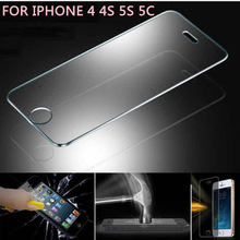Mobile Phone Use screen protective film for iPhone 5S 5c