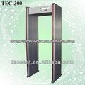 Detector de metales de seguridad de la puerta militar detectores de metales de la venta TEC-300
