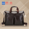 2014 fashion soft leather mens messenger bags
