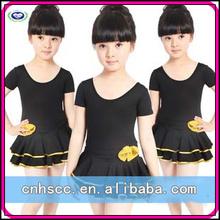 kızlar dans etek performans kostümleri çocuklar kızlar kısa kollu etekler