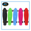 """22""""x6"""" Cheap Plastic Skateboards Mini Cruiser Complete For Sale with Fishscale Deck"""