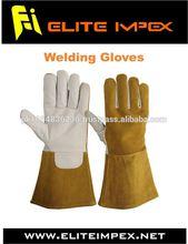 Long Sleeve Leather Welding Gloves